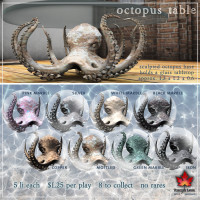 Trompe Loeil - Octopus Tables