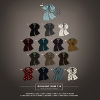 ISON - Opulent Bow Tie