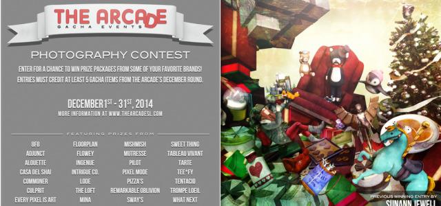 The Arcade Photography Contest – December 2014