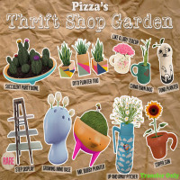 Pizza's - Thrift Shop Garden