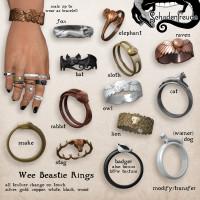 Schadenfreude - Wee Beasties Rings