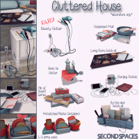 Second Spaces - Cluttered House