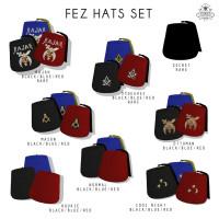 Sorgo - Fez Hat Sets