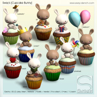 Sway's - Cupcake Bunny