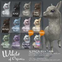 Wilds of Organica - Alpaca Avatar
