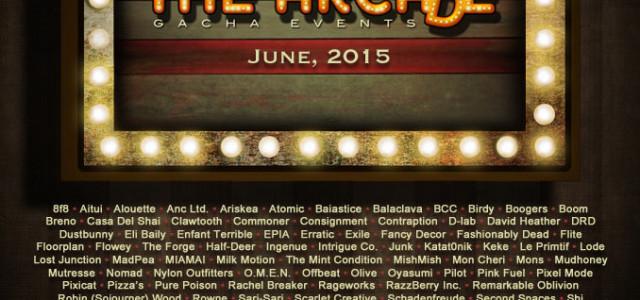 2 Weeks till June 2015 Arcade!