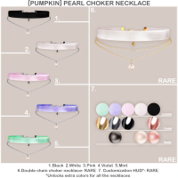 Pumpkin - Pearl Necklace