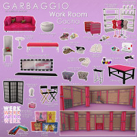 Garbaggio - Work Room Gacha