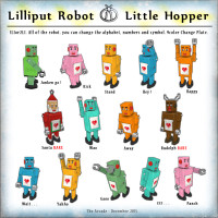Little Hopper - Lilliput Robot