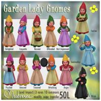 Mutresse - Garden Lady Gnomes