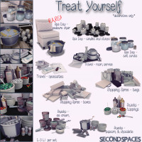 Second Spaces - Treat Yourself