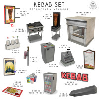 Sorgo - Kebab Set