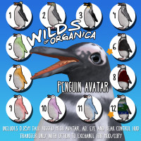 Wilds of Organica - Penguin Avatar