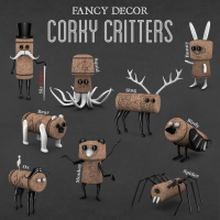 Fancy Decor - Corky Critters