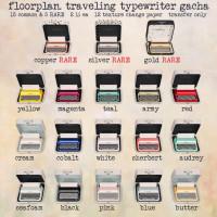Floorplan - Traveling Typewriter