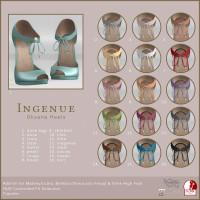 Ingenue - Oksana Heels