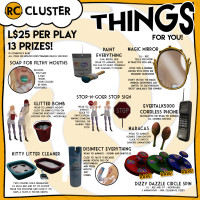 RC Cluster - THINGS for you!