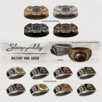 Sleepy Eddy - Military Ring Gacha