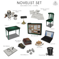 Sorgo - Novelist Set