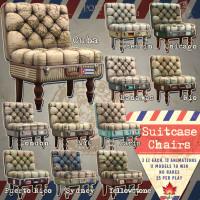 Trompe Loeil - Suitcase Chairs
