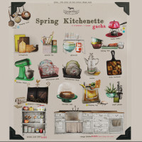 Vespertine - Spring Kitchenette
