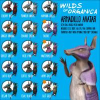 Wilds of Organica - Armadillo Avatar