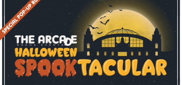 Announcing the Arcade's Halloween Spooktacular!